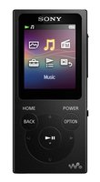 NW-E 394 B schwarz tragbarer MP3/Multimedia-Player 8GB